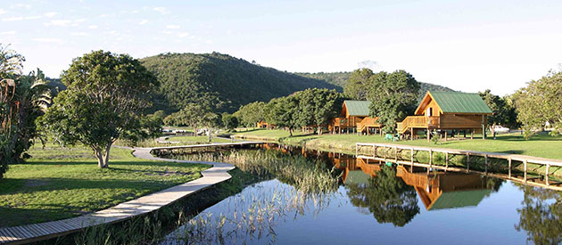 SANParks GARDEN ROUTE NATIONAL PARK - WILDERNESS EBB-AND-FLOW REST CAMP www.south-africa-info.co.za
